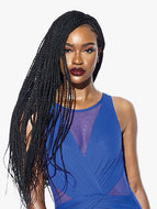 Sensationnel Cloud 9 4X4 Ruwa Hand Braided Lace Front Wig - Senegal Twist 32 Inches