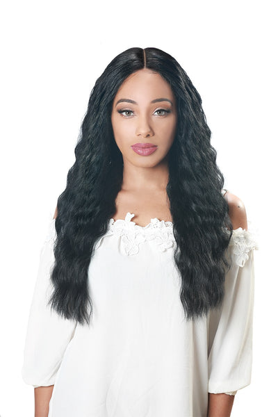 Zury Sis Flawless Pre-Tweezed Royal Swiss Lace Front Wig - Ellis