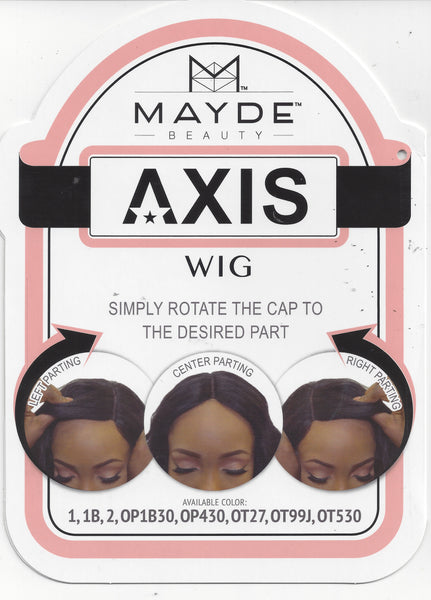 Mayde Beauty Axis Wig - Starre - Beauty Empire