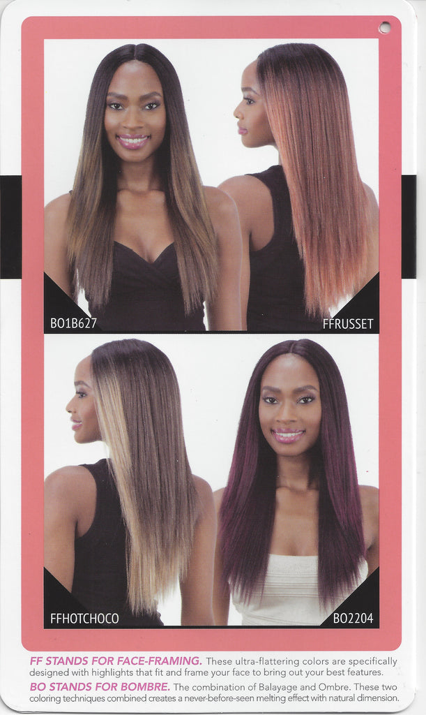 Mayde 5 Inch Invisible Lace Part Wig - Kalissa