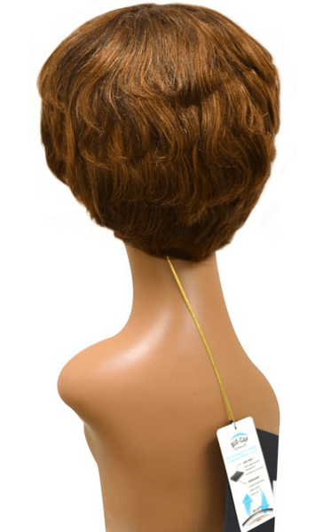 Vivica A. Fox Pure Stretch Cap Human Hair Wig - June - Beauty EmpireVivica A Fox - 4
