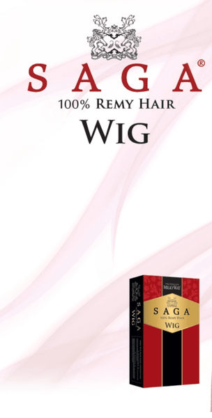 Milky Way Sage 100% Remy Hair Wig - Misty Rose - Beauty EmpireShake N Go - 2