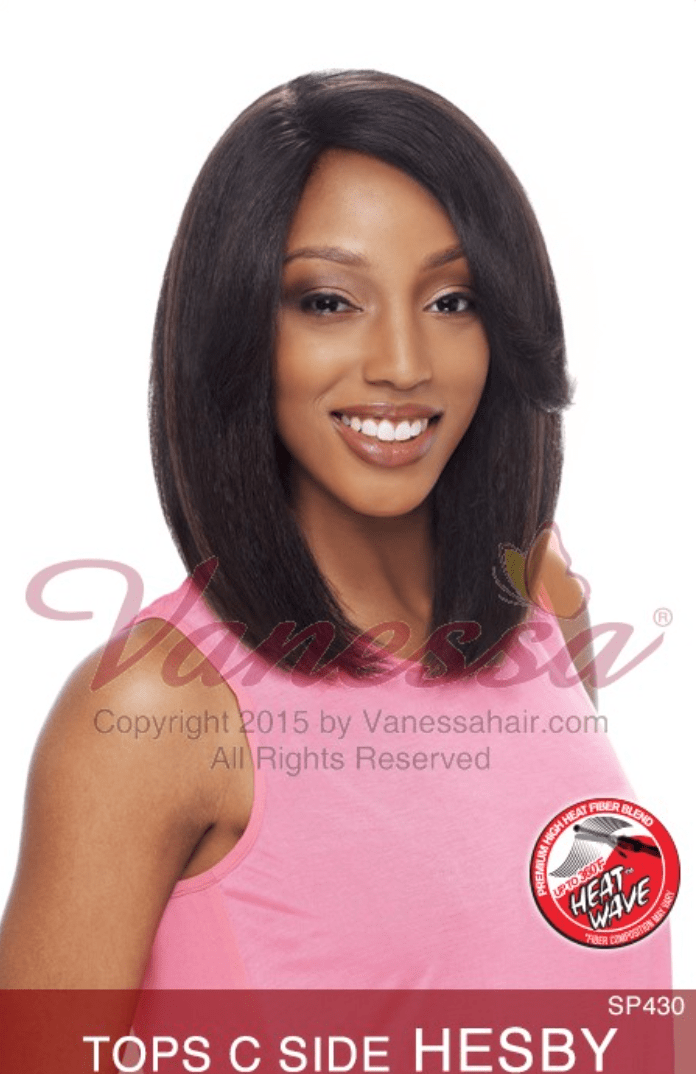 Vanessa Express Lace Front Wig - Top C-Side Hesby - Beauty EmpireVanessa - 1
