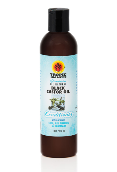 Tropic Isle Living Black Castor Oil Conditioner  (8 oz) - Beauty Empire