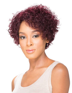 Sky 100% Human Hair Wig - Berry