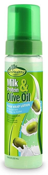 Sofn'Free GroHealthy Milk Protein & Olive Oil Foam Wrap Lotion (7.5 Oz) - Beauty Empire