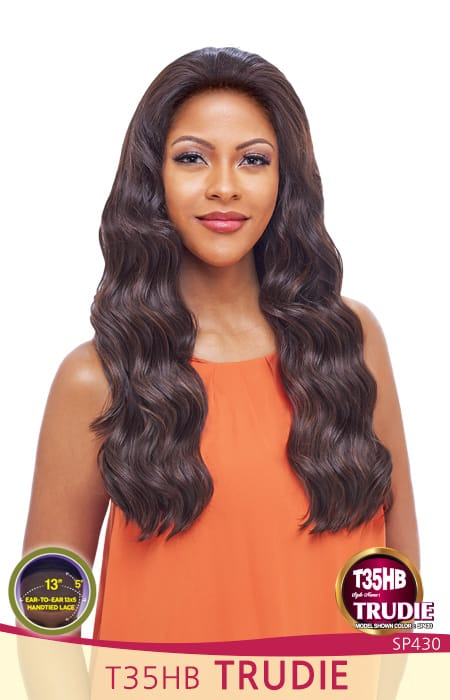 "Vanessa Tops Swissilk Brazilian Human Hair Blend 13""X5"" Lace Front Wig - T35HB Trudie"