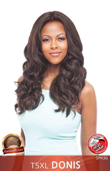 "Vanessa Honey-5 5""x5"" Hand-Tied Swisssilk Deep Lace Front Wig - T5XL Donis"