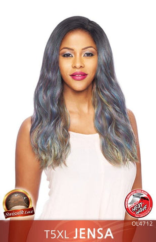 21 Tress 100% Human Blended Full Cap Lace Wig - HL Loose