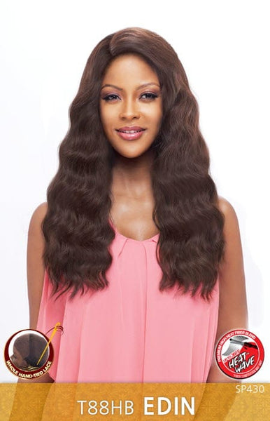 Vanessa Honey-88 Brazilian Human Hair Blend Whole Hand-Tied Lace Front Wig - T88HB Edin