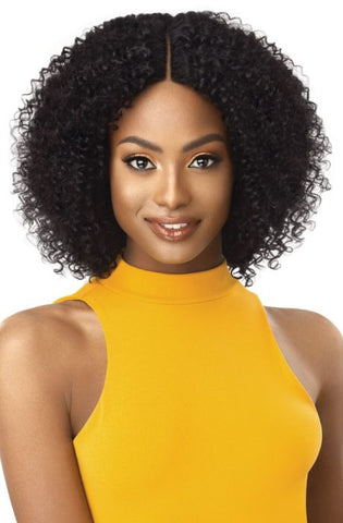 Outre The Daily Wig 100% Unprocessed Human Hair Lace Part Wig - Bohemian 14 Inches