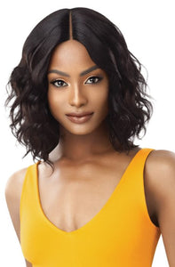 Outre The Daily Wig 100% Unprocessed Human Hair Lace Part Wig - Curly 16 Inches