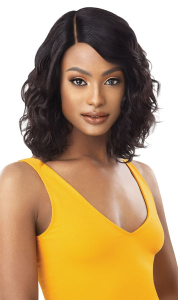 Outre The Daily Wig 100% Unprocessed Human Hair Lace Part Wig - Curly 16 Inches - Beauty Empire