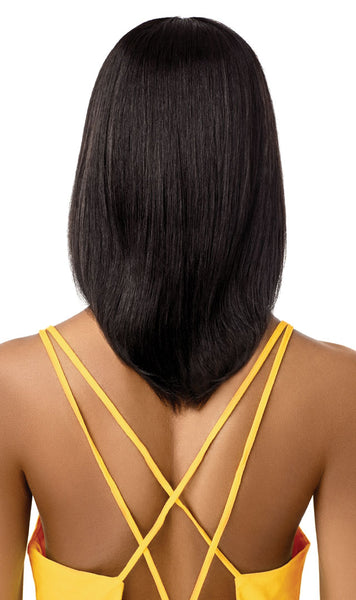 Outre The Daily Wig 100% Unprocessed Human Hair Lace Part Wig - Layer Bob 16 Inches