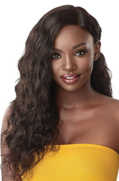 Outre The Daily Wig 100% Unprocessed Human Hair Lace Part Wig - Loose Curl 24 Inches