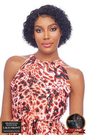 Vanessa 100% Unprocessed Brazilian Human Hair Hand-Tied Swissilk J-Part Lace Front Wig - TJH Becca