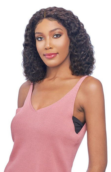 Vanessa Wet & Wavy 100% Brazilian Human Hair Swiss Silk Lace Front Wig - TMH Gini