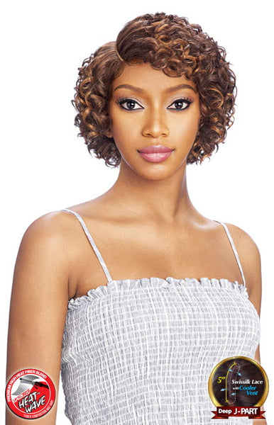 Vanessa Top Super Deep J-Side Lace Part Lace Front Wig - Tops DJ Winnie