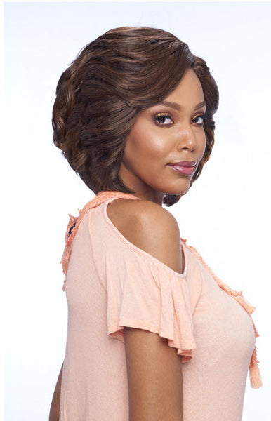 Vanessa Top Super Deep Reverse J-Side Part Lace Front Wig - Tops DRJ Velin - Beauty Empire