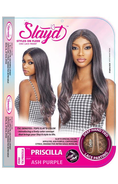 Vanessa Slay'd Synthetic Deep Part Lace Front Wig - TSC Priscilla - Beauty Empire