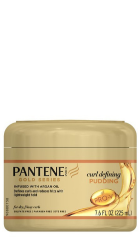 Pantene Gold Series Curl Defining Pudding - 7.6oz