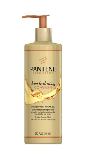 Pantene Gold Series Deep Hydrating Co-Wash - 15.2oz