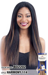 MilkyWay Human Hair MasterMix Lace Front Wig - Harmony 114 - Beauty Empire