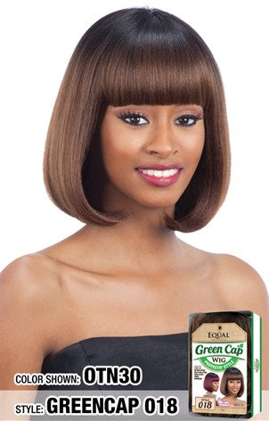 FreeTress Equal Synthetic Wig - Green Cap 018