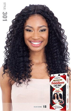 Freetress Equal 100% Hand-Tied Freedom Lace Part Wig - 301 - Beauty Empire