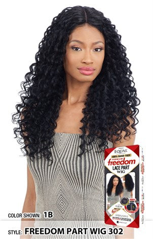 Freetress Equal 100% Hand-Tied Freedom Lace Part Wig - 302