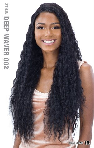 Freetress Equal Lace & Lace 5 Inch Lace Part Wig - Deep Waver 002 - Beauty Empire