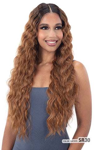 Freetress Equal Lace & Lace 5 Inch Lace Part Wig - Deep Waver 005
