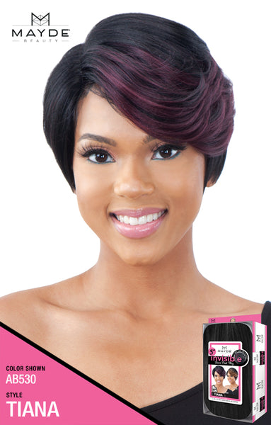 Mayde Beauty 5 Inch Invisible Synthetic Lace Part Wig - Tiana