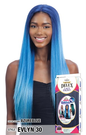Freetress Equal Premium Delux Watercolor Lace Front Wig - Evlyn 30 Inches - Beauty Empire