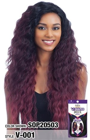 Freetress Equal V Shaped Delux Lace Front Wig - V 001 - Beauty Empire