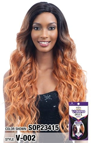 Freetress Equal V Shaped Delux Lace Front Wig - V 002