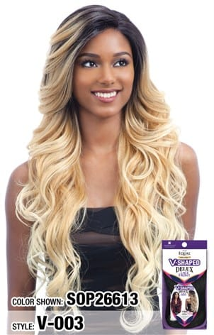 Freetress Equal V Shaped Delux Lace Front Wig - V 003