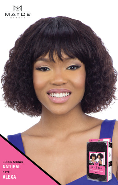 Mayde Beauty 100% Human Hair Wig - Alexa - Beauty Empire