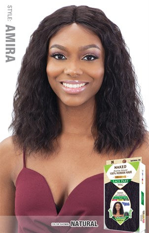 Shake N Go Naked 100% Brazilian Human Hair C-Part Wig - Amira