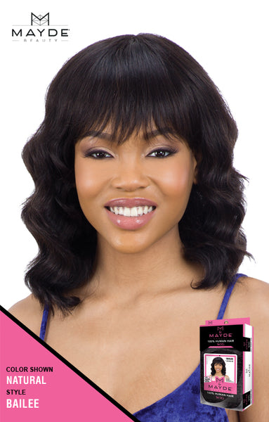 Mayde Beauty 100% Human Hair Wig - Bailee - Beauty Empire