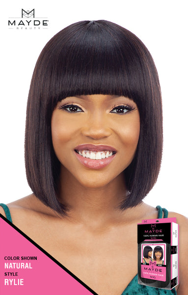 Mayde Beauty 100% Human Hair Wig - Rylie - Beauty Empire