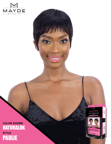 Mayde Beauty 100% Human Hair Wig - Paulie