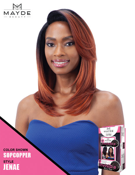 Mayde Beauty Invisible Lace Part Wig - Jenae - Beauty Empire