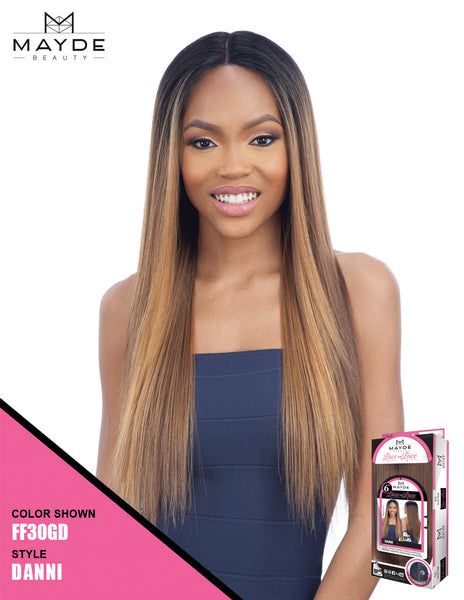 Mayde Beauty 6 Inch Lace & Lace Lace Front Wig - Danni - Beauty Empire