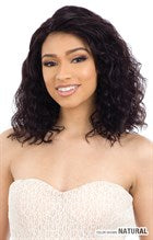 Shake N Go Naked 100% Human Hair 5 Inch C-Part Lace Front Wig - Natural 302