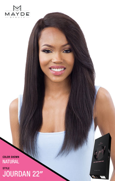 Mayde Beauty It Girl 100% Virgin Human Hair Lace Front Wig - Jourdan