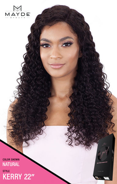 Mayde Beauty It Girl 100% Virgin Human Hair Lace Front Wig - Kerry - Beauty Empire