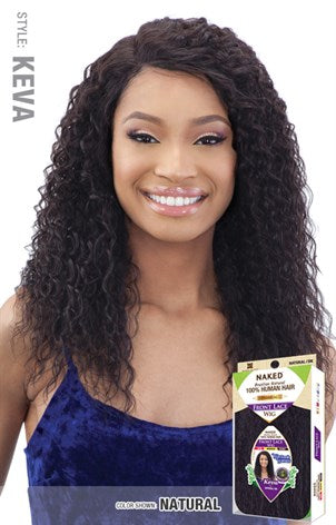 Shake N Go Naked 100% Brazilian Human Hair 5 Inch R-Part Lace Front Wig - Keva - Beauty Empire