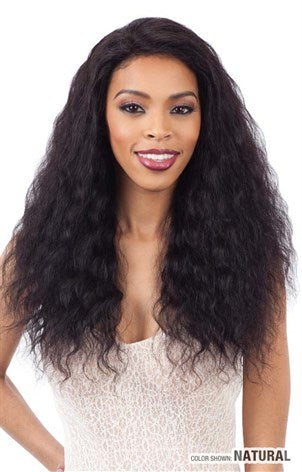 Shake N Go Naked Wet & Wavy 100% Brazilian Human Hair Lace Front Wig - Loose Deep