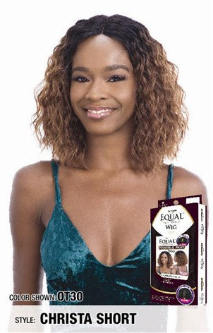 Freetress Equal Invisible Lace Part Wig - Christa Short